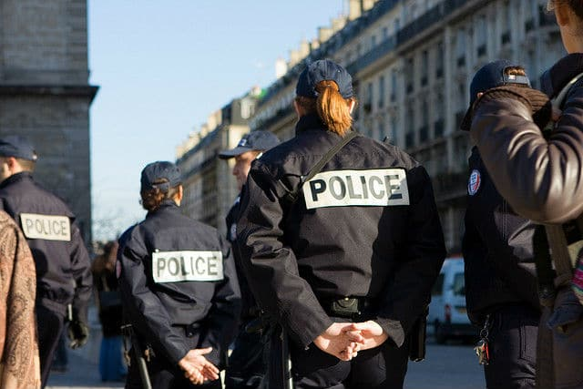 Phot Adjoint de securite de la Police Nationale