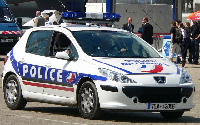 Voiture de la Police Nationale