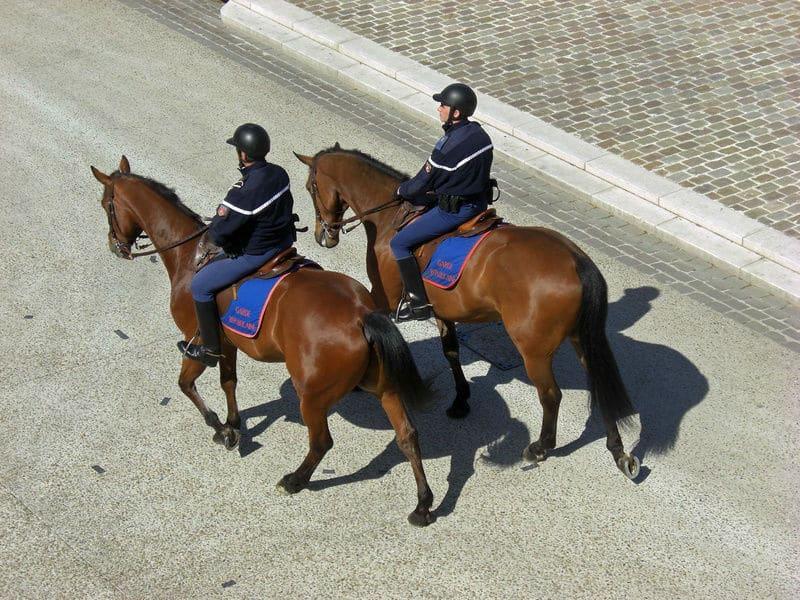 Gendarme à cheval