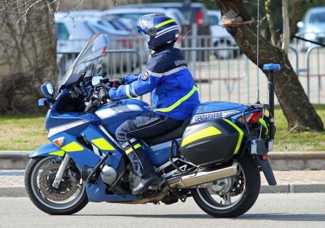 Gendarme à moto