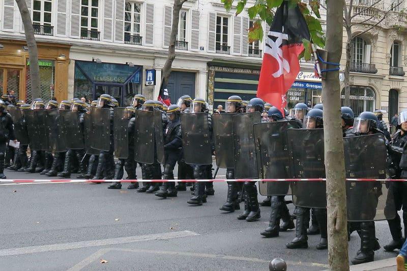 Manifestation Gendarmes Mobiles