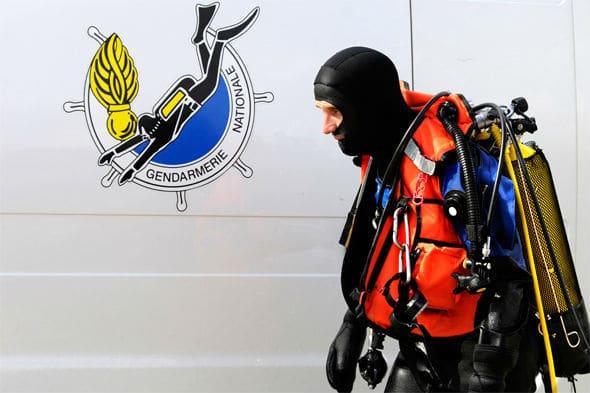 Plongeur de la Gendarmerie