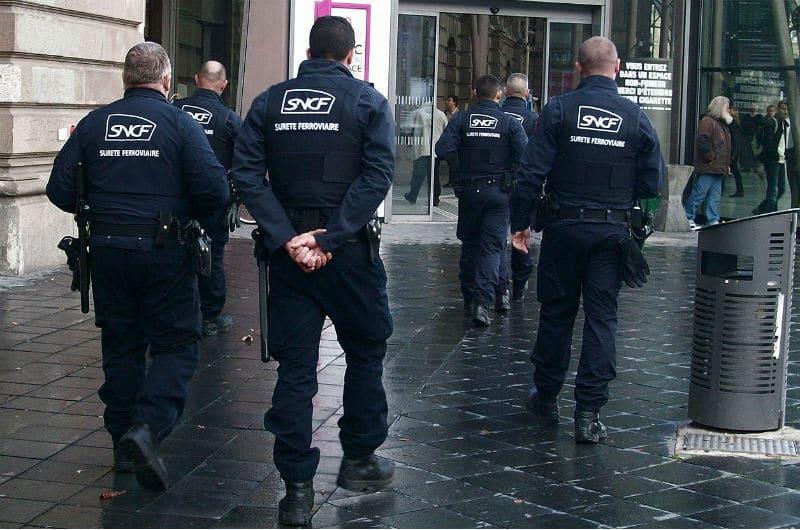 Agents SUGE de la SNCF