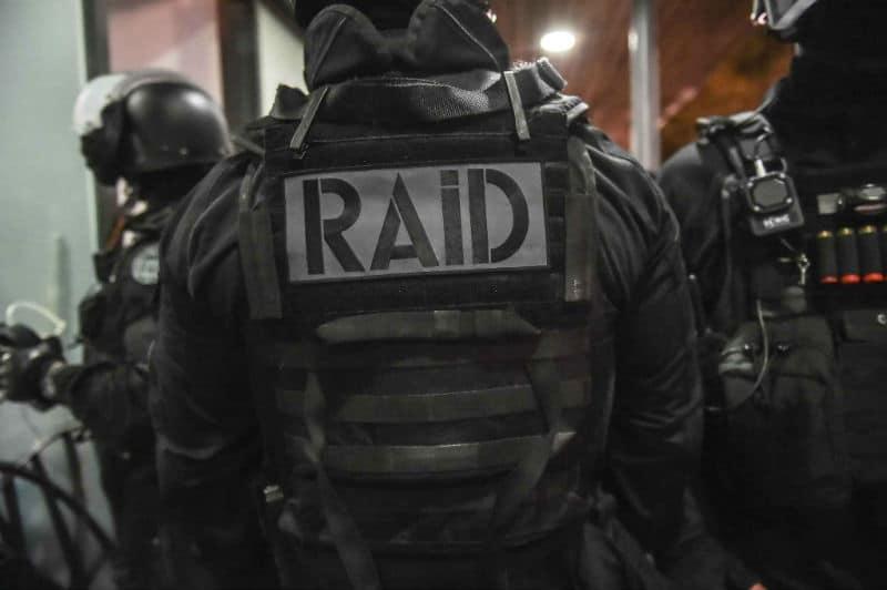 Policiers du Raid