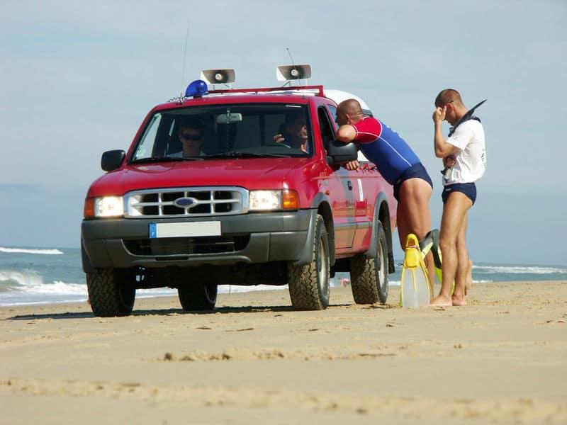 CRS à la plage