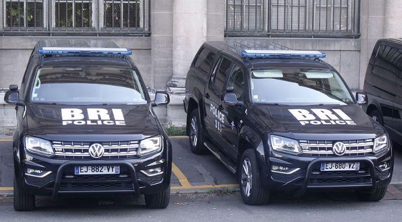 Véhicules VW Amarok de la BRI