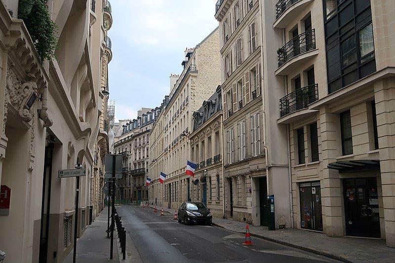 Siège de l'IGPN à Paris