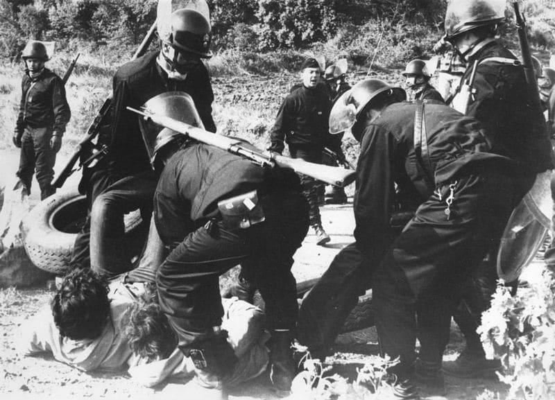 Gendarmerie Mobile dans les années 70