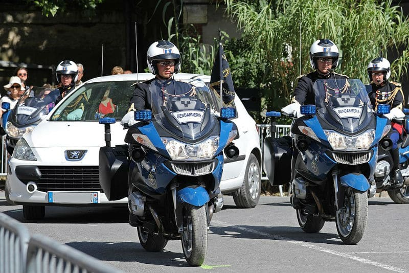 Motards de la Garde Républicaine