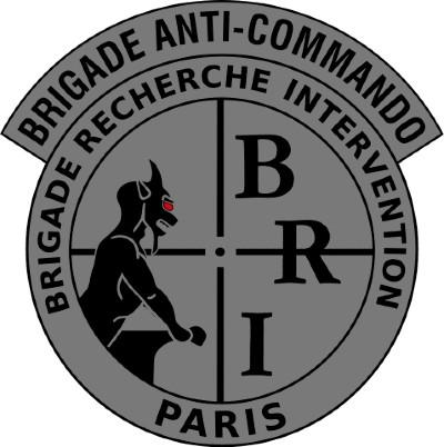 Écusson de la Brigade Anti-Commando