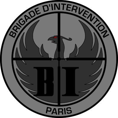 Écusson de la Brigade d'Intervention de Paris