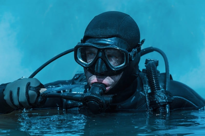 Plongeur de la Police Nationale