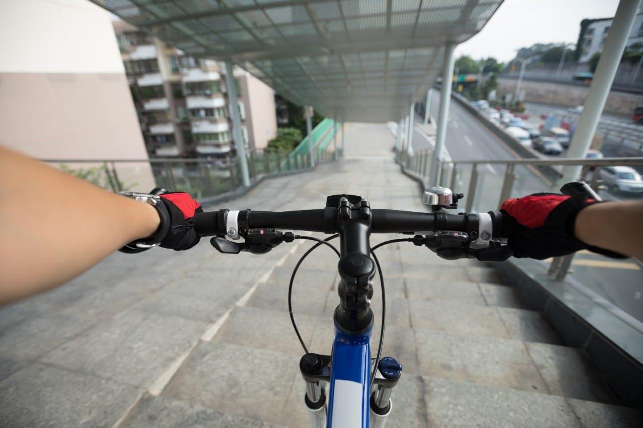 Policier à Vélo